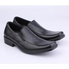 Catenzo Sepatu Pantofel / Formal Pria MRx104 Black