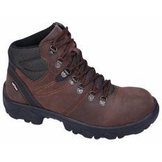 Spesifikasi Catenzo Sepatu Safety Pria Brownman Li 066 Coklat Dan Harganya
