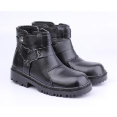Toko Catenzo Sepatu Safety Pria Lix065 Black Catenzo Jawa Barat