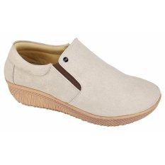 Catenzo Sepatu Slip On Wanita Marina AH 061 - Krim