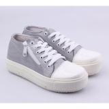 Toko Catenzo Sepatu Sneaker Kets Wanita Sq 003 Gray Online Di Jawa Barat