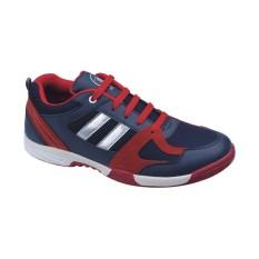Harga Catenzo Sepatu Sport Olahraga Running Shoes Pria Wanita At 074 Biru Merah Baru