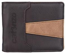 Catenzo SK 38 dompet lipat wanita - bahan sintetis - 11x9x3 - simple dan keren (Brown)