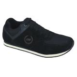 Toko Catenzo Sport Full Black Synthetic Running Shoes Men Sepatu Lari Pria Hitam Yang Bisa Kredit