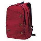 Toko Catenzo St 033 Tas Ransel Laptop Pria Rain Cover Canvas Merah Terdekat