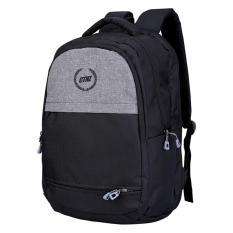 Catenzo St 045 Ransel Backpack Pria-Dolby-Gaya Dan Keren(Hitam)+Laptop+Extra Rain Cover