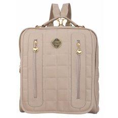 Toko Catenzo Tas Backpack Ransel Wanita Rhx637 Cream Yang Bisa Kredit