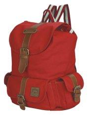 Review Catenzo Tas Backpack Wanita Marya Red C423 Red Di Jawa Barat