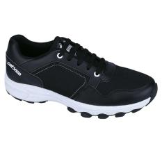 Catenzo Tf 141 Therapy Footwear Bio Natural Quantum Energy Pria Sport-Sintetis-Tpr Outsole-Nyaman Di Pakai (HITAM)