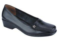 Harga Catenzo Wedges Formal Sepatu Kerja 246 Dm 114 Hitam Paling Murah
