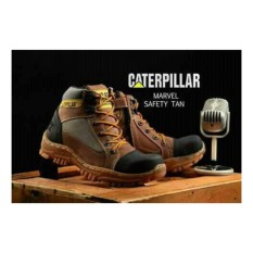 caterpillar safety resleting marvel safety tan