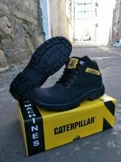 caterpillar safety shoes semi boots sepatu pria tracking gunung kerja kuliah lapangan proyek dinas