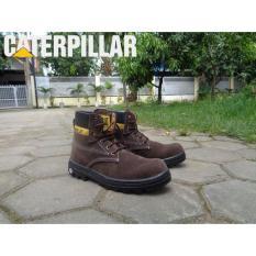 Caterpillar Sepatu Boots Bromo Pria Biker Touring 54f8b979e9