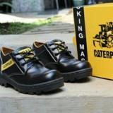 Review Toko Caterpillar Sepatu Safety Low Boots Caterpillar Licin Black