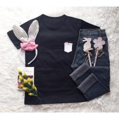 Catty pocket # U 240803 T-shirt Wanita / Kaos Cewek / Tumblr Tee Cewek / Kaos Wanita Murah / Baju Wanita Murah / Kaos Lengan Pendek / Kaos Oblong / Kaos Tulisan