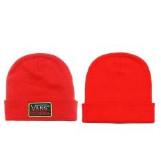 Kausal Bernapas Elastis Pria VANS_Knitted Hat Kapas Hangat Cap-Intl