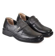 CB6 Sepatu Kulit Original Formal Pria Hitam RHC 800