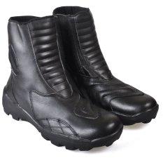 Diskon Cbr Six Bsc 703 Sepatu Country Biker Boots Kulit Asli Gagah Hitam Akhir Tahun