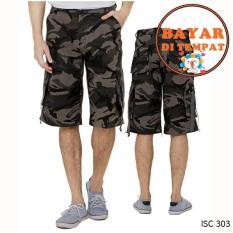 Cbr Six Celana Pendek Pria Keren modis dan stylish ISC 303 - Army