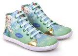 Harga Cbr Six Cnc 310 Sepatu High Cut Sneaker Anak Perempuan Lucu Canvas Hijau Cbr Six Asli