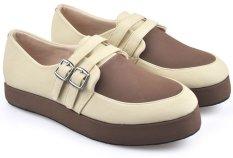 Beli Cbr Six Iwc 859 Sepatu Slip On Sneaker Casual Wanita Keren Syntetic Krem Cicilan
