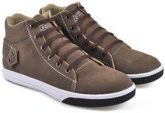 CBR SIX PAC 415 Sepatu kets/ high cut sneaker - synthetic - Keren - cokelat