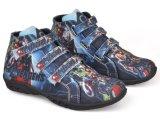 Jual Cbr Six Rnc 015 Sepatu High Cut Sneaker Anak Laki Laki Lucu Canvas Biru Branded