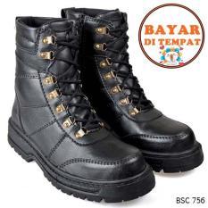 Cbr Six Sepatu Adventure Boot Pria Keren Dan Kuat Bsc 756 Hitam Murah