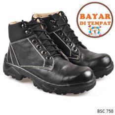 Cbr Six Sepatu Adventure / Boot Pria Keren Dan Kuat BSC 758  - Hitam
