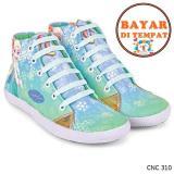 Promo Toko Cbr Six Sepatu Boots Anak Perempuan Frozen Cantik Cnc 310 Hijau