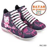 Review Toko Cbr Six Sepatu Boots Anak Perempuan Hello Kitty Cantik Rnc 009 Hitam