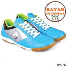 Cbr Six Sepatu Futsal Pria Keren Dan Kuat NAC 711 - Biru