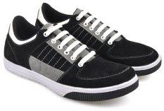 CBR SIX STC 936 Sepatu Kets/ Low Cut Sneaker - Synthetic - Keren - Hitam