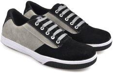 Beli Cbr Six Stc 937 Sepatu Kets Low Cut Sneaker Synthetic Keren Abu Hitam Cicilan