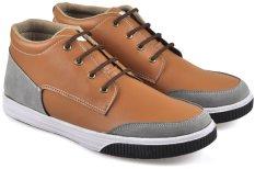 Jual Cbr Six Stc 938 Sepatu Kets High Cut Sneaker Synthetic Keren Tan Cbr Six Ori