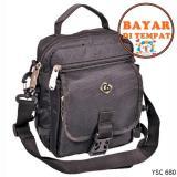 Jual Cbr Tas Selempang Pria Berkualitas Keren Dan Stylish Original Ysc 680 Hitam Cbr Six Original