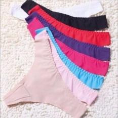 Spesifikasi Cd 5503 G String Panties Seamless Lingerie Random Dan Harga