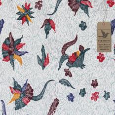 Cek Batik - Kain Batik Motif Madura Unik Kombinasi Warna (Tosca, Putih Tulang, Merah, Coklat, Kuning, Biru)