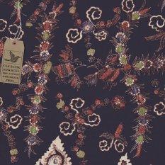 Cek Batik - Kain Batik Motif Burung Madura Sangat Unik Hitam Manis