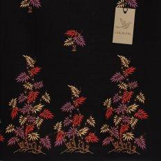 Cek Batik - Kain Motif Unik Batik Bambu Kombinasi Warna (Merah Muda, Ungu Muda, Cream Muda)
