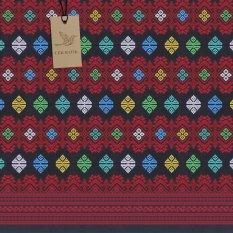 Cek Batik - Kain Songket Etnik Cantik Kombinasi Warna Motif ( Biru Muda, Kuning Muda, Hijau Muda, Tosca Muda, Putih, Merah, Hitam)