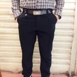 Dapatkan Segera Celana Bahan Formal Twis Pria Slimfit Hitam 27 38