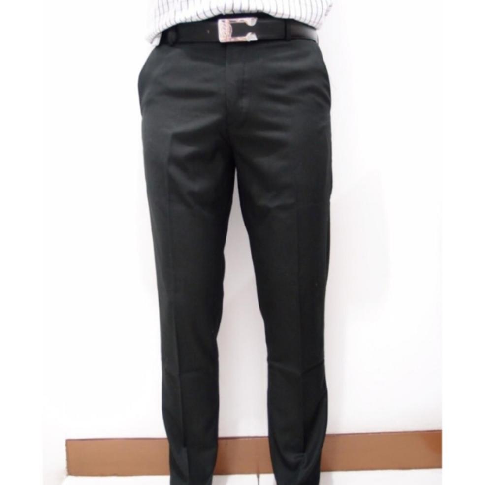 Celana bahan pria formal slimfit wol abu muda,hitam ,abu tua / Celana kain