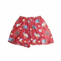 Celana Batik Unik Dan Trendy - FSW-52 - Red