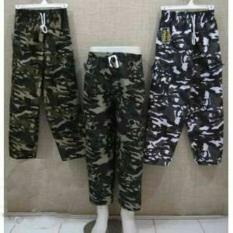Celana Cargo / Outdoor Wear / Army / Panjang/ Kolor / Dewasa