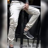 Beli Celana Cargo Pria Kargo Joger Pria Krem Murah