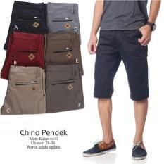 Celana Chino Celana Pendek Katun Jeans Pria Dc Zara  - Db3a53