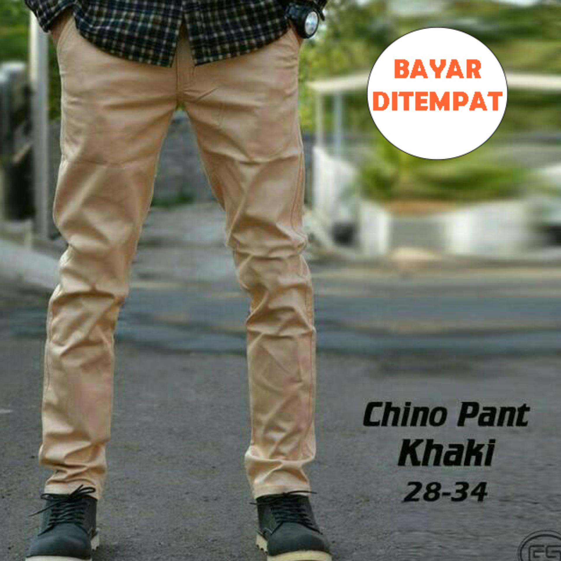 ... Celana Chino Cream Casual Pria BEST SELLER