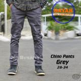 Celana Chino Panjang Abu Original