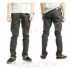 Spesifikasi Celana Chino Panjang Eklusive Old Brown Murah